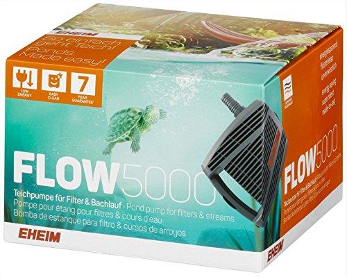Eheim 4011708510605 Flow5000 Teichpumpe für Filter und Bachläufe