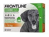 Frontline   Combo Spot On Cani   Protezione da pulci, zecche, uova e larve di pulci   3 Pipette   Cane S (2 - 10 Kg)