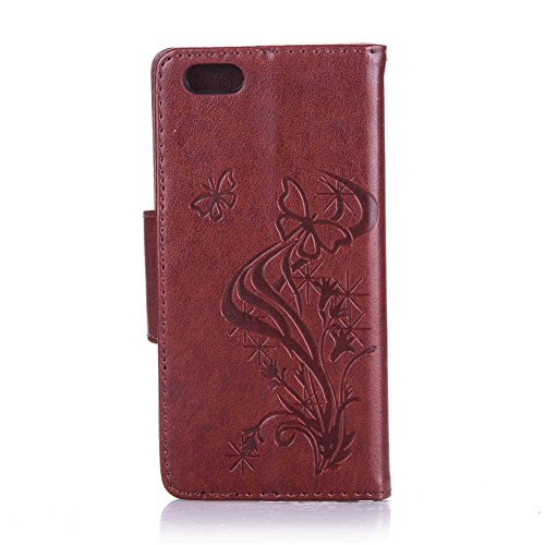"""iPhone 6/6S Coque, LANDEE PU Leather Bling Bling Gaufrage Etui Housse Flip Case Coque Pour iPhone 6 / iPhone 6S (4.7"""") (6S-P-0612) 6S-P-0606"""