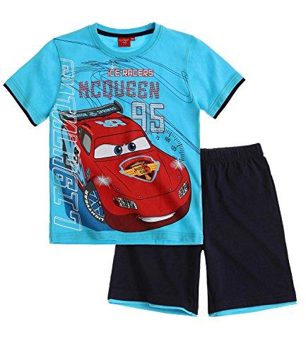 Disney Cars Jungen Shorty-Set - blau - 116 (Outfits Disneys Cars)