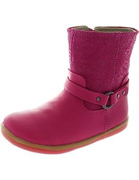 Bobux I-walk Strap Boot - Patucos de piel para niña rosa rosa
