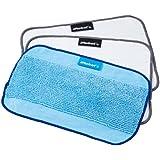 iRobot 4409705 - Pack de 3 paños (2 secos y 1 húmedo), para depósito Pro-Clean, de Braava 380, color azul