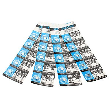 SOFMORE™ Maxell 364 SR621SW 1.55V Sheng Maxell Mike Seelbach Uhrenbatterie Knopfzellen (20 Stück)
