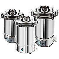 hzexun Esterilizador de calor Autoclave esterilizador de vapor de alta presión para equipos médicos dentales