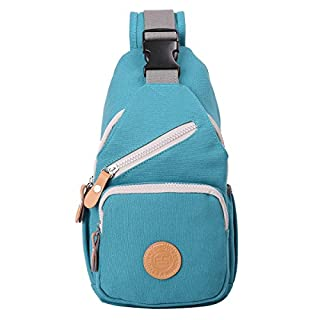 Eshow Women's Crossover Bags Sling bag Chest Bags Crossbody Chest Pack Backpack Cycling Hiking Travel Camping Daily Use Small