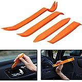 4pcs Car Radio Panel Trim Dash Car Audio Removal Tool Door Body Clip Plastic Pry Tool Kit