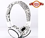 Unix Artzy UX -03 Perfection Tone Quality Headset with MIC, Compatibility with-Xiaomi Redmi Note 3,Lenovo Vibe K5,Samsung Galaxy J7 Prime, Lenovo K5 Note,Samsung Galaxy J2 2016,Oppo F1s,Xiaomi Redmi 3S Prime,LeEco Le 2,Samsung Galaxy On8,Google Pixel XL,Samsung Galaxy S7 Edge,OnePlus 3,LG G5,HTC 10,Apple iPhone 7 Plus,Apple iPhone 6 Plus-UNIX-HS-052-Artzy White