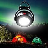 Camping Lampen und Laternen, tragbare Outdoor LED Strahler Arbeit Lichter Lampe mit Magnetfuß für Nacht Grillen Rucksackreisen Bergsteigen Trip (Batterien im Lieferumfang enthalten)