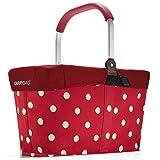 reisenthel - EXKLUSIVES ANGEBOT! carrybag + GRATIS passendes cover ! Einkaufskorb Einkaufstasche (ruby dots)
