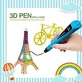 MODAR 3D Stift Set 3D Drucker Stift schönes Geschenk für Kinder, Potenzial von Kinder erschließen, umweltfreundlich und harmlos (Blau)