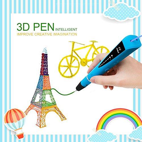 Bolígrafo 3D para Dibujar en Relive Compatible con PLA & ABS Filament