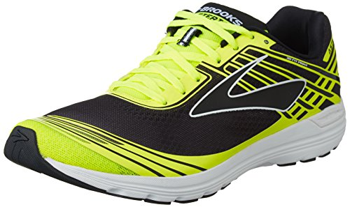 brooks Asteria, Zapatos para Correr para Hombre, Multicolor (Black/Nightlife/White), 44 EU