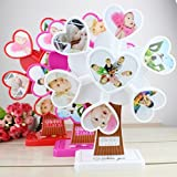 #9: Rianz Auto Rotating Musical Heart Windmill Shaped Photo Frame