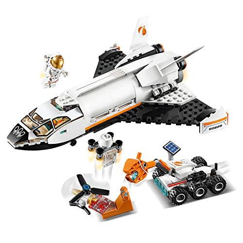 LEGO®-City La navette spatiale Enfant de 5 Ans et Plus, Jouet de Construction, 273 Pièces 60226