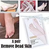 BZLine Fußmaske, 1 Paar Entfernen Sie abgestorbene Haut Fußhaut Glatte Peeling Fußmaske Fußpflege