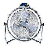 Ventilatore a pavimento circolare ad alta velocità, 3 impostazioni, nero ( dimensioni : 60*25*66cm )