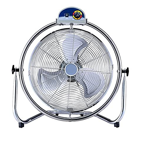 High Velocity Cool Air Circulator Floor Fan, 3 Einstellungen, schwarz ( größe : 55*24*60cm )