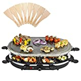 Best Raclette Grills - Andrew James Raclette Machine Set with Oval Stone Review