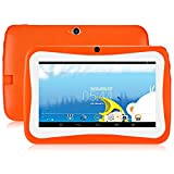 Genérico GBLife Mini Tablet per bambini Tablet da 7,0 pollici con custodia in silicone Stander, Android 4.4 Quad Core da 1,2 GHz, RAM da 1 GB + 16 GB ROM, fotocamera da 0,3 MP, Wi-Fi, Bluetooth