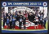 Fußball Poster und MDF-Rahmen - Glasgow Rangers, Scottish