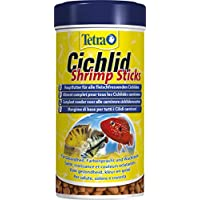 Tetra Cichlid Shrimps Sticks - Mangime Ricco di Gamberetti Specifico per Pesci Ciclidi - 250 ml