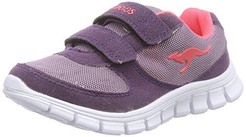 KangaROOS BlueKids 2082 II, Mädchen Sneakers, Violett (violet/shock pink 687), 32 EU