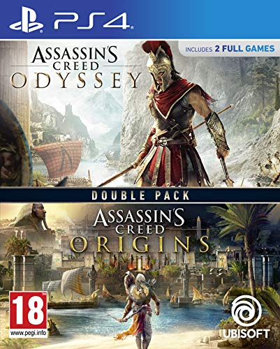 double pack: assassin's creed odyssey + assassin's creed origins - playstation 4 [edizione: spagna]