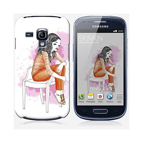 Sticker iPhone 5C de chez Skinkin - Design original : Wish and wear 30 par Manuela De Simone Coque Samsung Galaxy S3 mini