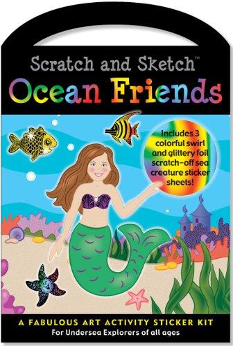 Scratch & Sketch Sticker Kit: Ocean Friends (Scratch and Sketch)