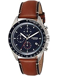 Fossil Sport 54 Chronograph Blue Dial Men's Watch-CH3039