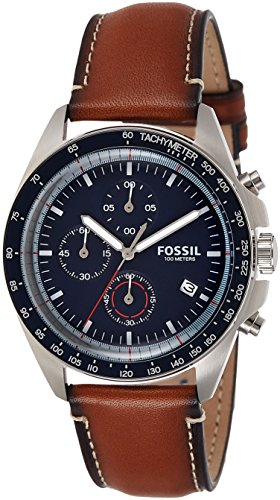 Fossil Sport 54 Chronograph Blue Dial Men's Watch - CH3039