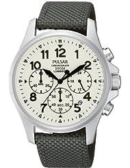 Pulsar Watches Mens Lumibrite Chronograph Watch