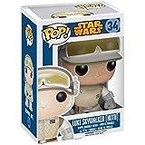 Star Wars - Figura con cabeza móvil Luke Skywalker (Funko 4528)