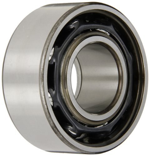 "SKF 3309 A/C3 Double Row Ball Bearing, Converging Angle Design, 32? Contact Angle, ABEC 1 Precision, Open, Standard Cage, C3 Clearance, 45mm Bore, 100mm OD, 1 9/16"" Width by SKF"