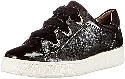 Paul Green Damen 4539001_40 Sneaker, Schwarz (Black), EU