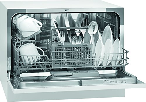 Bomann TSG 708 Freestanding 6places A+ White - dishwashers (Freestanding,...