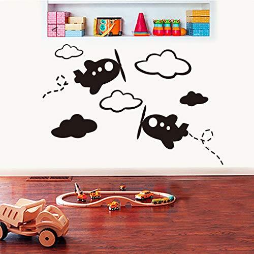 Mitlfuny -> Haus & Garten -> Küche,Abnehmbare Flugzeug Wandaufkleber dekorative Aufkleber Kinder Kinderzimmer Babyzimmer