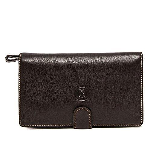 Sachet sac Giudi | cuir véritable | Classic Line | 2871 / A-Dark Brown