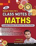 #9: Rakesh Yadav Class Notes of Maths- (Handwritten Notes)