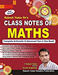 Rakesh Yadav Class Notes of Maths- (Handwritten Notes)