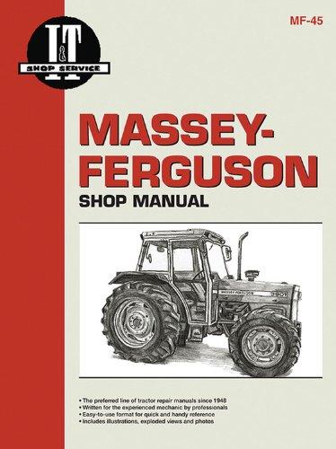 Ferguson Shop Manual (Massey Ferguson Shop Manual Models Mf362 365 375 383 390+)