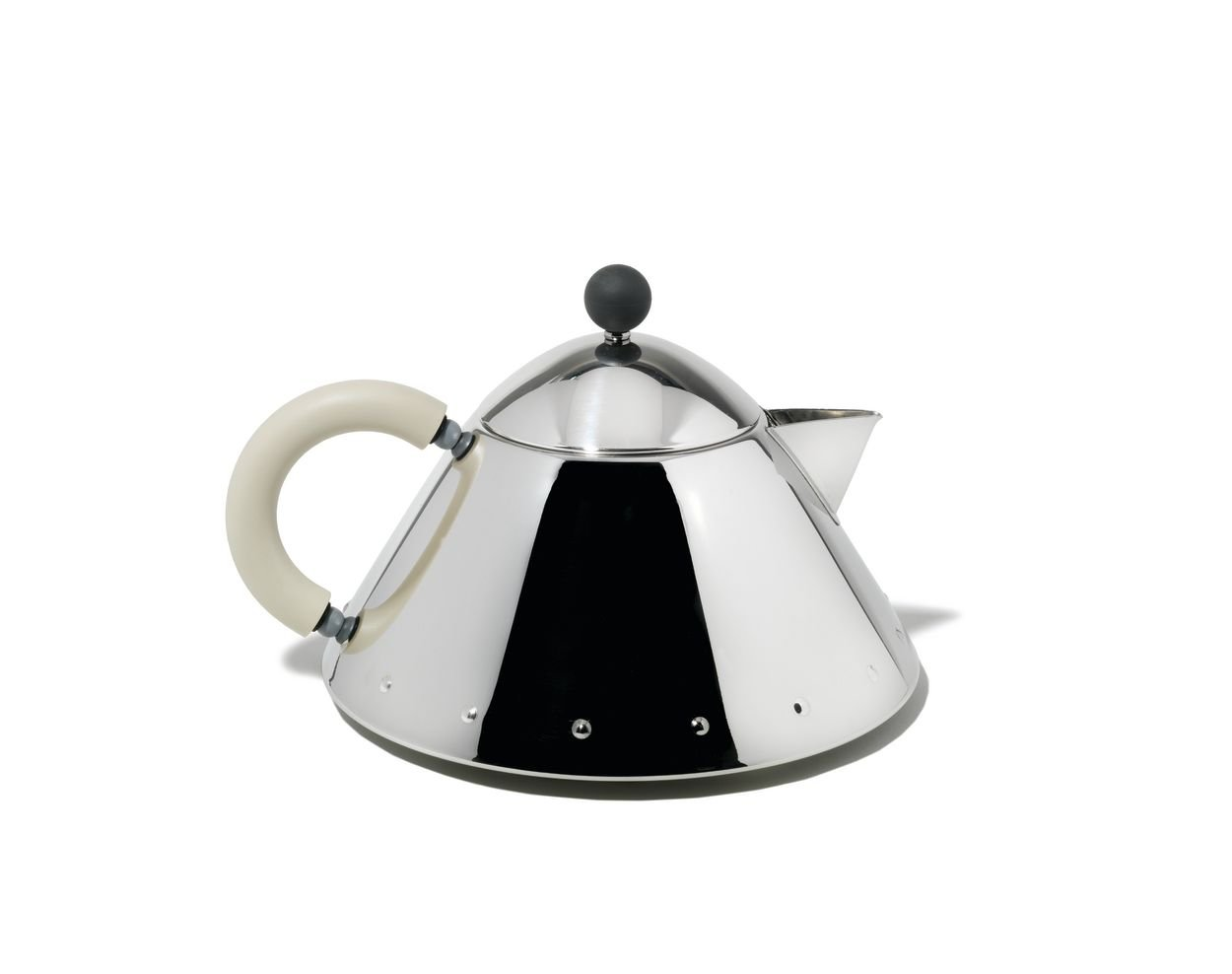 alessi teapot white ivory (mg wi) amazoncouk kitchen  home -