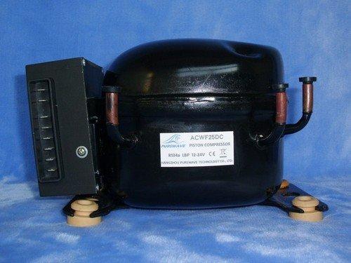 Gowe 12V-24V DC Kompressor, Mini Kompressor, für tragbare Kühlschrank, Fahrzeug Kühlschrank, an die meisten 150L refrigerato