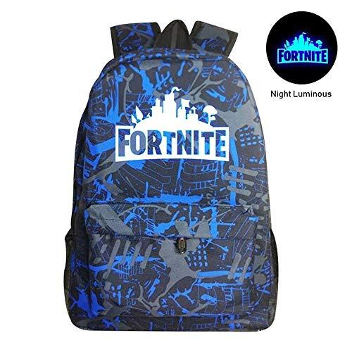miglior servizio 1cd53 a13a4 kekai Fortnite Luminoso Zaino Battle Royale School Bag Notebook Zaino  Laptop Fortnite Galaxy Zaino per adolescenti Ragazzi e ragazze
