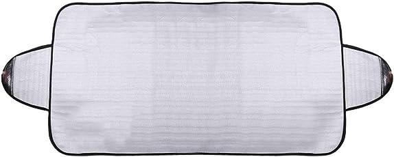 Hermosairis Praktische Auto Windschutzscheibe Abdeckung Anti EIS Schnee Frost Schild Staubschutz Hitze Sonnenschutz Ideal für Front Auto Windschutzscheibe