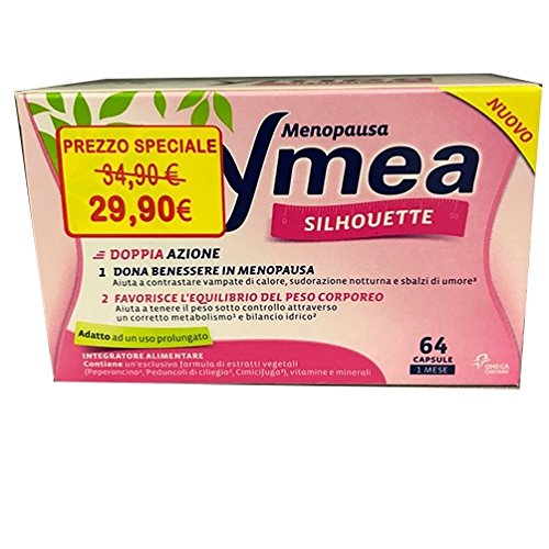 Chefaro Pharma Menopausa Ymea Silhouette Integratore Alimentare 64 Capsule