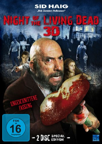 Night of the living Dead 3D (2007) Special Edition (inkl. 2x 3D Brillen + 3D Covercard) - (2 Disc Set)