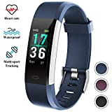 Fitness Tracker Watch with Heart Rate Monitor, Color Screen Activity Tracker