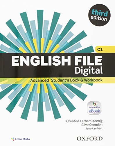 English file. Advanced. Student book-Workbook. With key. Per le Scuole superiori. Con e-book. Con espansione online