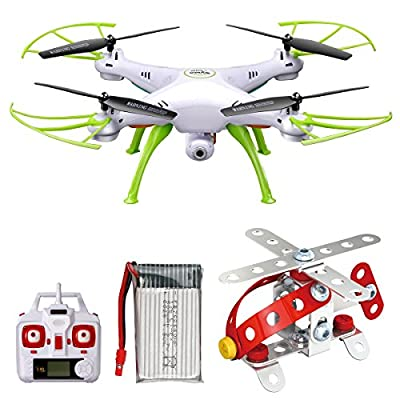 Syma X5HW FPV 2.4Ghz 4CH RC Headless Quadcopter Drone Copter UFO with HD Wifi Camera Hover Function White